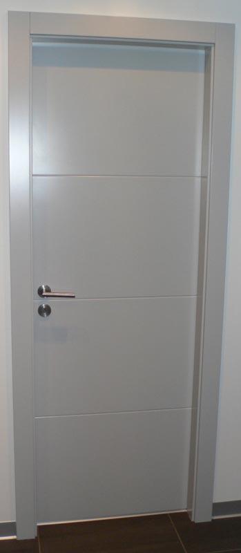 Menuiserie soell portes - Portes interieures grises ...